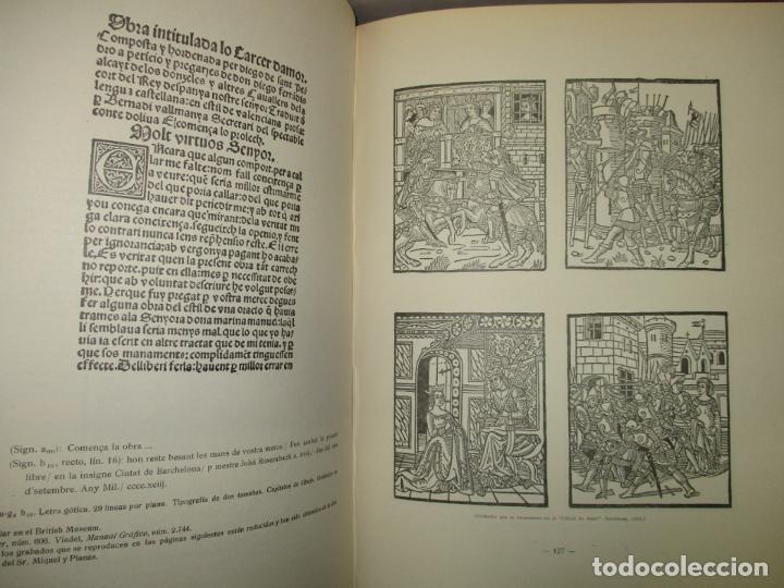 Libros de segunda mano: EL ARTE TIPOGRÁFICO EN CATALUÑA DURANTE EL SIGLO XV. VINDEL, Francisco. 1945. - Foto 6 - 184553056