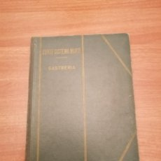 Libros de segunda mano: LIBRO CORTE SISTEMA MARTI - SASTRERIA. Lote 184564181