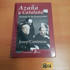 Libros de segunda mano: AZAÑA Y CATALUÑA. Lote 184577828