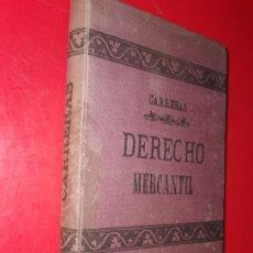 Libros de segunda mano: ELEMENTOS DEL DERECHO MERCANTIL - D.CARRERAS Y GONZÁLEZ,MARIANO Y D.GONZÁLEZ REVILLA,LEOPOLDO. Lote 184599480