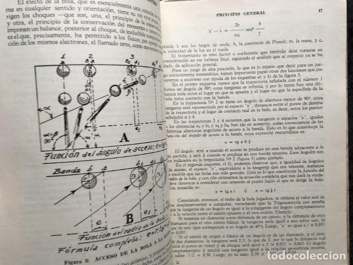 Libros de segunda mano: BILLAR - TEORIA DE LOS DIAMANTES - Revelación de su Matemática Práctica - ANTONINO CILIONE - 1958 - Foto 4 - 184605421