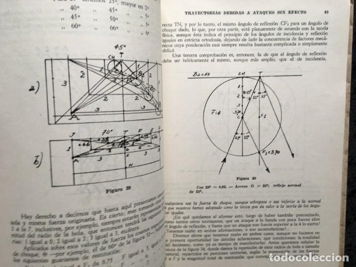 Libros de segunda mano: BILLAR - TEORIA DE LOS DIAMANTES - Revelación de su Matemática Práctica - ANTONINO CILIONE - 1958 - Foto 5 - 184605421