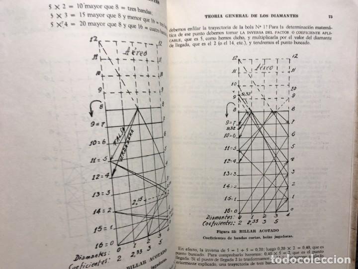 Libros de segunda mano: BILLAR - TEORIA DE LOS DIAMANTES - Revelación de su Matemática Práctica - ANTONINO CILIONE - 1958 - Foto 6 - 184605421