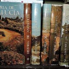 Libros de segunda mano: HISTORIA DE ANDALUCÍA. TOMOS DEL 1 AL 8. DOMÍNGUEZ ORTIZ, A. ED. CUPSA Y ED. PLANETA. BARCELONA 1980. Lote 184610141