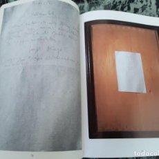 Libros de segunda mano: BEUYS EN VIENA. EXPOSICIÓN CANARIAS 1991. ESPAÑOL/ALEMAN. JOSEPH. NEODADAISMO.. Lote 182095198
