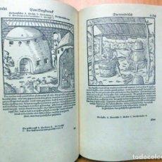 Libros de segunda mano: ¡COMO NUEVO! FACSÍMIL ÍNTEGRO DE LA OBRA DE JORGE AGRICOLA, DE LOS METALES (S. XVI). Lote 184781493