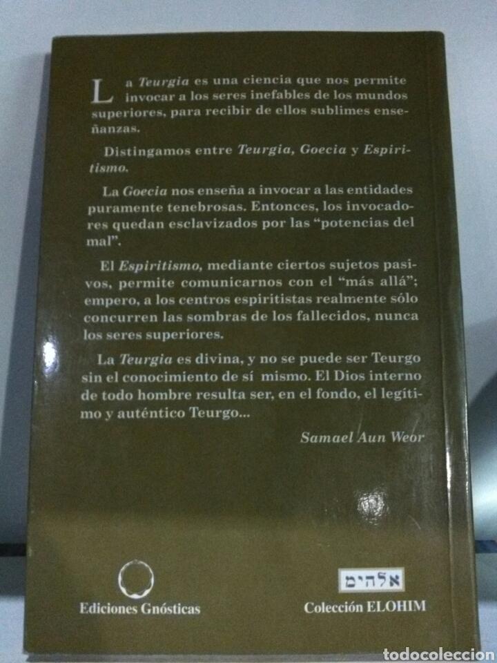 Libros de segunda mano: TRATADO ESOTÉRICO DE TEURGIA . AUN WEOR - Foto 2 - 184793147