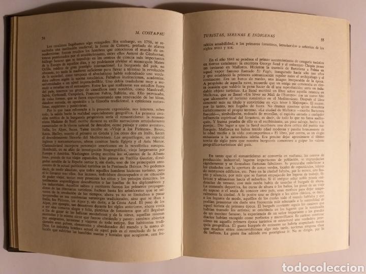 Libros de segunda mano: Turistas sirenas e indígenas Manuel costa-pau .1967 . .. pensamiento ensayo - Foto 15 - 184804766