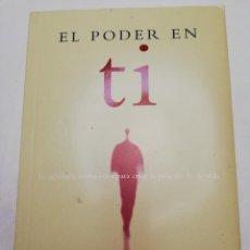 Libros de segunda mano: EL PODER EN TI (KABBALISTA RAV P. S. BERG). Lote 184814192