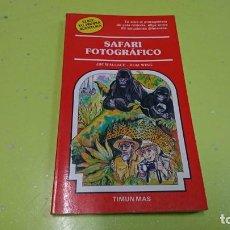 Libros de segunda mano: TIMUN MÁS, SAFARI FOTOGRÁFICO, ELIGE TU PROPIA AVENTURA . Lote 184826705