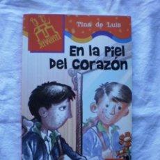 Libros de segunda mano: EN LA PIEL DEL CORAZON. Lote 184832547