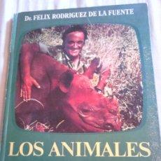 Libros de segunda mano: LIBRO,DR.FELIX RODRÍGUEZ DE LA FUENTE, LOS ANIMALES EN SU MEDIO AMBIENTE, AÑO 1976,VER FOTOS. Lote 184850463