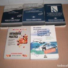 Libros de segunda mano: TEMARIO POLICIA NACIONAL. Lote 184860618