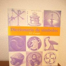 Libros de segunda mano: J.C. COOPER: DICCIONARIO DE SÍMBOLOS (GUSTAVO GILI, 2000) MUY BUEN ESTADO. MUY RARO.. Lote 184875833