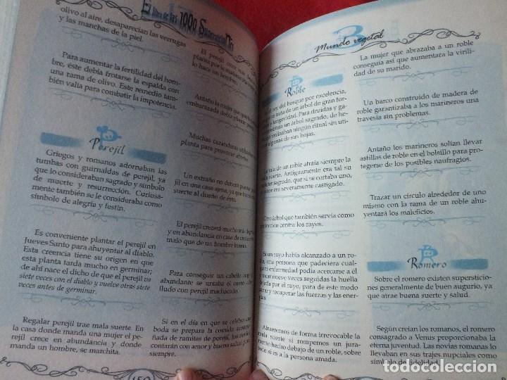 Libros de segunda mano: SUPERSTICIONES EL LIBRO DE LAS 1000 SUPERSTICIONES - Foto 3 - 184884897