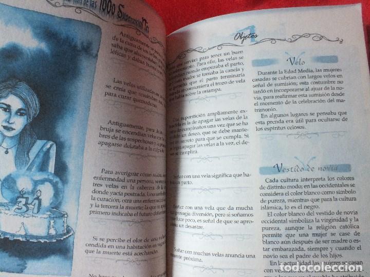 Libros de segunda mano: SUPERSTICIONES EL LIBRO DE LAS 1000 SUPERSTICIONES - Foto 5 - 184884897