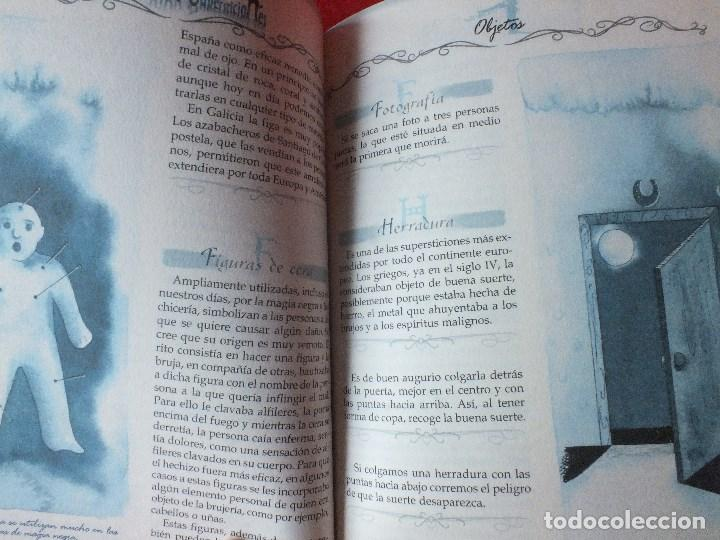 Libros de segunda mano: SUPERSTICIONES EL LIBRO DE LAS 1000 SUPERSTICIONES - Foto 7 - 184884897