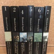 Livres d'occasion: LOTE 6 TOMOS HISTORIA DE ESPAÑA - DIRIGIDA POR MIGUEL ARTOLA - PUEDEN PEDIRSE SUELTOS - GCH. Lote 184920441