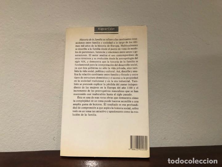Libros de segunda mano: Historia de la Familia. James Casey. Editorial Espasa. Sociedad. Sociologia - Foto 2 - 185564825