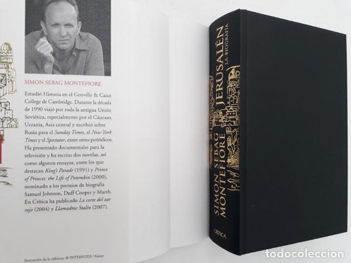 Libros de segunda mano: JERUSALÉN, LA BIOGRAFÍA, AUTOR: SIMÓN SEBAG MONTEFIORE (ED. CRITICA, PRIMERA EDICIÓN 2011) - Foto 3 - 185714495