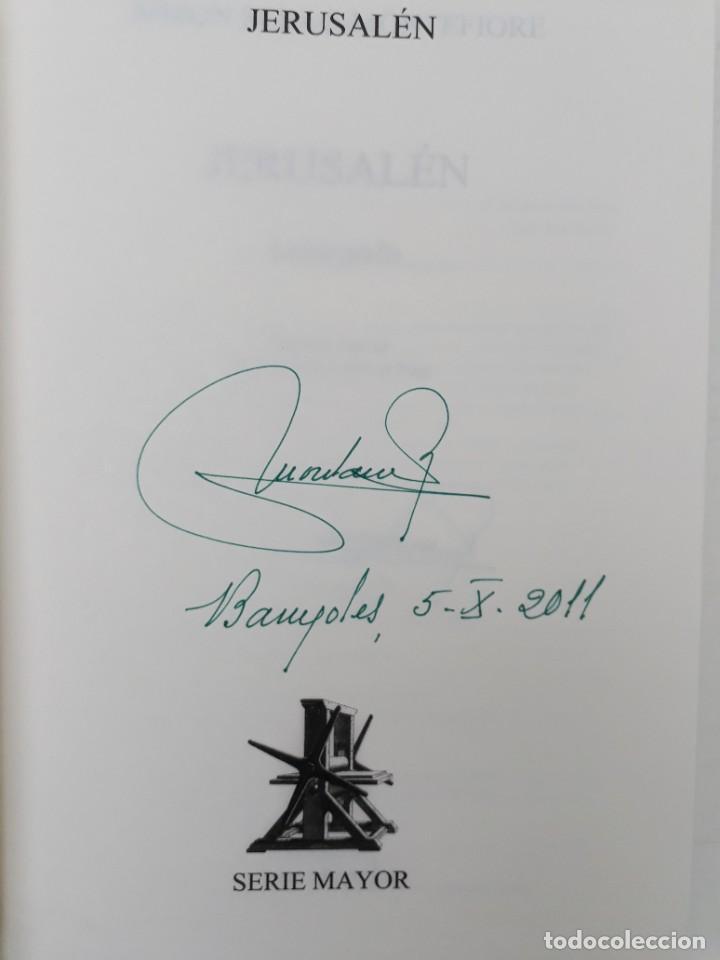 Libros de segunda mano: JERUSALÉN, LA BIOGRAFÍA, AUTOR: SIMÓN SEBAG MONTEFIORE (ED. CRITICA, PRIMERA EDICIÓN 2011) - Foto 4 - 185714495