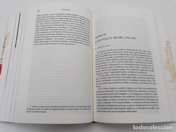 Libros de segunda mano: JERUSALÉN, LA BIOGRAFÍA, AUTOR: SIMÓN SEBAG MONTEFIORE (ED. CRITICA, PRIMERA EDICIÓN 2011) - Foto 13 - 185714495