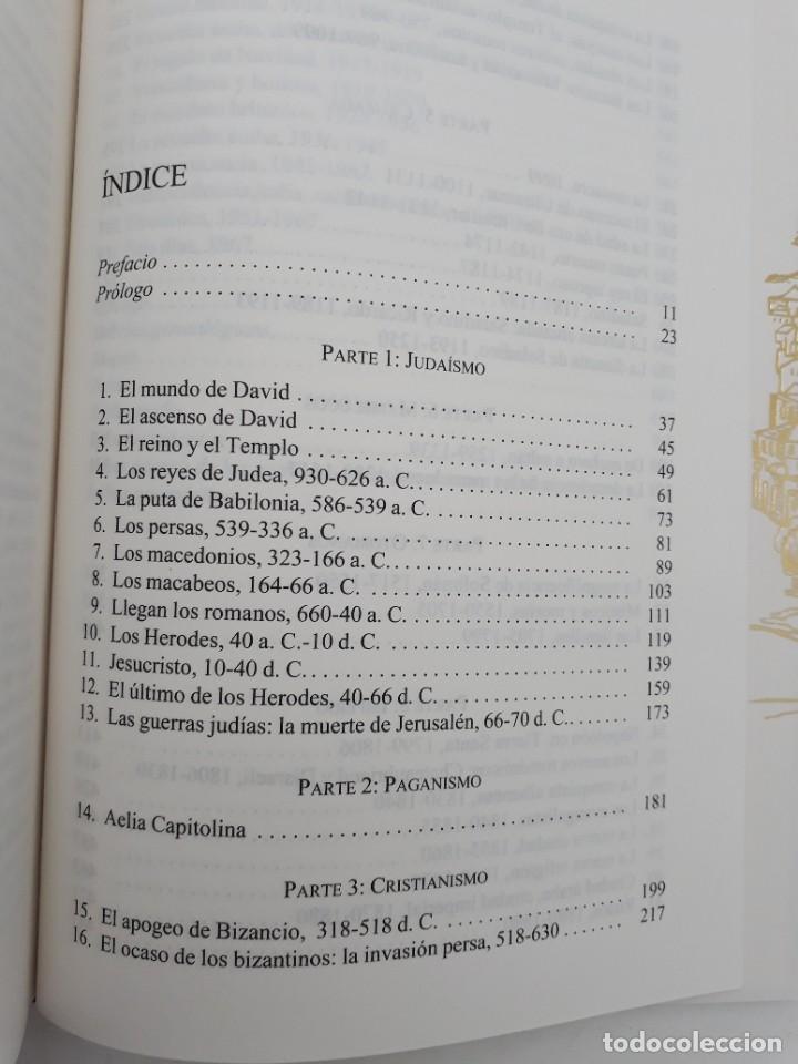 Libros de segunda mano: JERUSALÉN, LA BIOGRAFÍA, AUTOR: SIMÓN SEBAG MONTEFIORE (ED. CRITICA, PRIMERA EDICIÓN 2011) - Foto 14 - 185714495