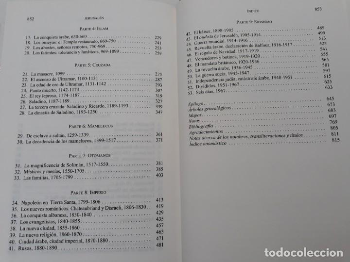Libros de segunda mano: JERUSALÉN, LA BIOGRAFÍA, AUTOR: SIMÓN SEBAG MONTEFIORE (ED. CRITICA, PRIMERA EDICIÓN 2011) - Foto 15 - 185714495