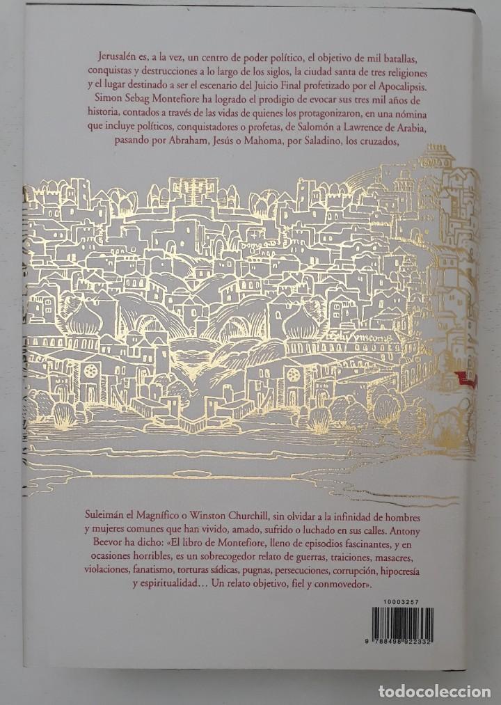Libros de segunda mano: JERUSALÉN, LA BIOGRAFÍA, AUTOR: SIMÓN SEBAG MONTEFIORE (ED. CRITICA, PRIMERA EDICIÓN 2011) - Foto 17 - 185714495