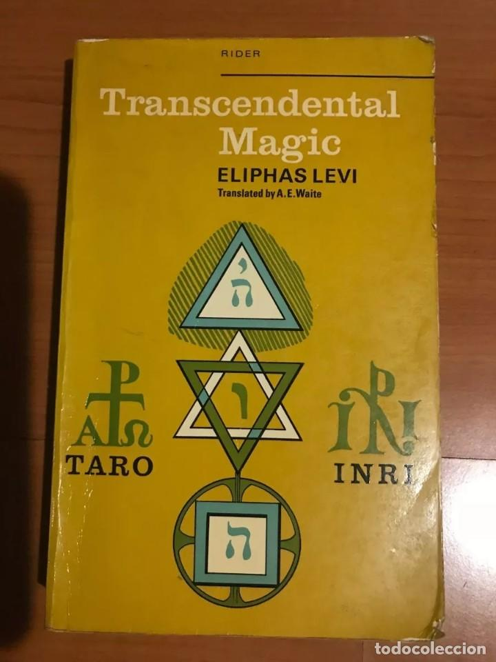 Libros de segunda mano: TRASCENDENTAL MAGIC ELIPHAS LEVI - Foto 1 - 185722181