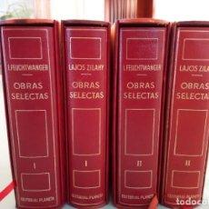 Libros de segunda mano: OBRAS SELECTAS DE EDITORIAL PLANETA CON ESTUCHE 4 TOMOS. Lote 185732350