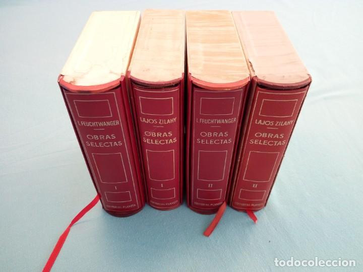 Libros de segunda mano: OBRAS SELECTAS DE EDITORIAL PLANETA CON ESTUCHE 4 TOMOS - Foto 2 - 185732350