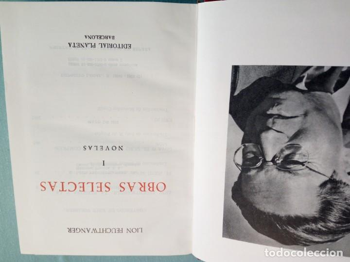 Libros de segunda mano: OBRAS SELECTAS DE EDITORIAL PLANETA CON ESTUCHE 4 TOMOS - Foto 7 - 185732350