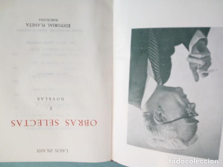 Libros de segunda mano: OBRAS SELECTAS DE EDITORIAL PLANETA CON ESTUCHE 4 TOMOS - Foto 9 - 185732350