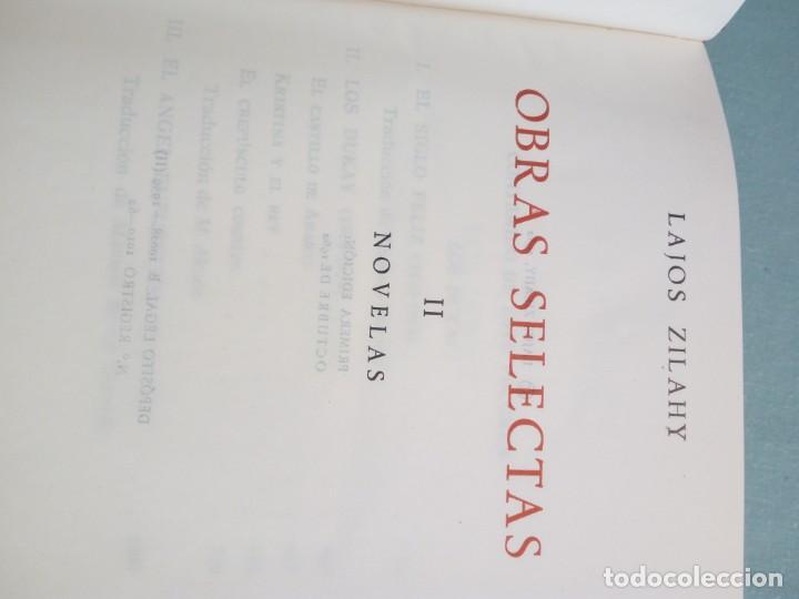 Libros de segunda mano: OBRAS SELECTAS DE EDITORIAL PLANETA CON ESTUCHE 4 TOMOS - Foto 14 - 185732350