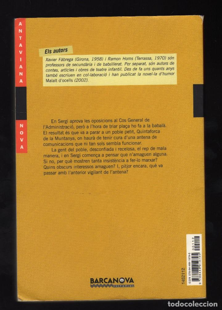 Libros de segunda mano: EL MISTERI DE QUINTAFORCA POR XAVIER FÀBREGA Y RAMON HOMS - 5ª edición: Septiembre, 2008 - - Foto 2 - 185912203