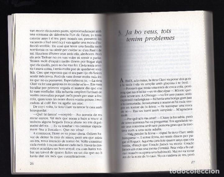 Libros de segunda mano: ASSASSINAT A LA CASA DE NINES POR BETTY REN WRIGHT - ILUSTRACIONES DE FERRAN VERDAGUER - - Foto 3 - 185917277