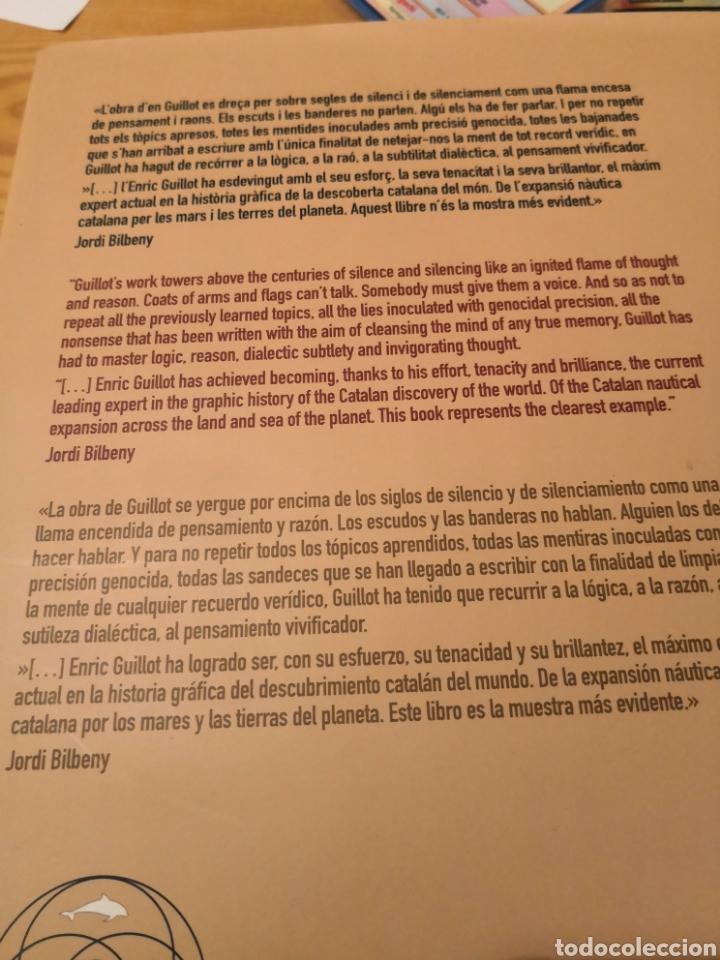 Libros de segunda mano: Descubierta I conquesta catalana D, América una historia reescrita pels castellans Enric Guillot - Foto 7 - 185934017