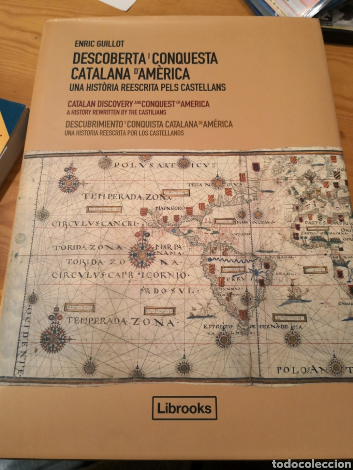 DESCUBIERTA I CONQUESTA CATALANA D, AMÉRICA UNA HISTORIA REESCRITA PELS CASTELLANS ENRIC GUILLOT (Libros de Segunda Mano - Historia - Otros)