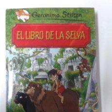 Libros de segunda mano: GRANDES HISTORIAS : EL LIBRO DE LA SELVA GERONIMO STILTON. Lote 206974037