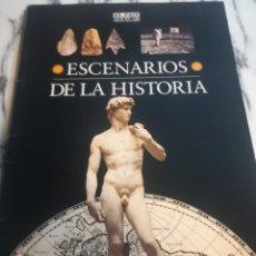 Libros de segunda mano: ESCENARIOS DE LA HISTORIA EL PAIS AGUILAR FUNDACION SANTILLANA 1995. Lote 185986866