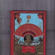 Libros de segunda mano: JULIO VERNE - VIAJES EXTRAORDINARIOS - LAS AVENTURAS... - CLUB INTERNACIONAL DEL LIBRO 1982. Lote 185989920