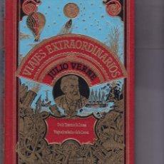 Libros de segunda mano: JULIO VERNE - VIAJES EXTRAORDINARIOS - DE LA TIERRA A LA... - CLUB INTERNACIONAL DEL LIBRO 1982. Lote 185990806