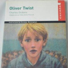 Libros de segunda mano: OLIVER TWIST. CHARLES DICKENS. Lote 185995561