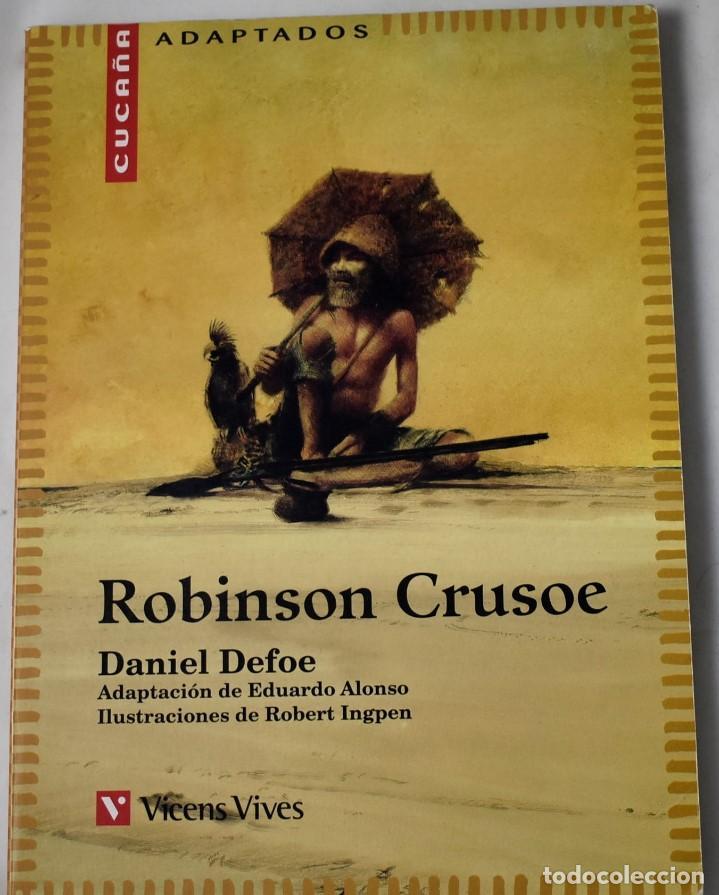 ROBINSON CRUSOE. DANIEL DEFOE. (Libros de Segunda Mano - Literatura Infantil y Juvenil - Otros)
