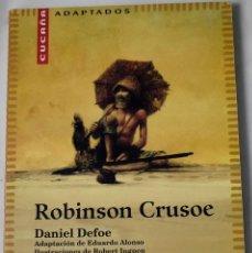 Libros de segunda mano: ROBINSON CRUSOE. DANIEL DEFOE.. Lote 185995958