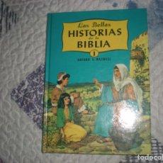 Libros de segunda mano: LAS BELLAS HISTORIAS DE LA BIBLIA.TOMO I-EL LIBRO DE LOS COMIENZOS-;A.MAXWELL;INTERAMERICANAS 1965. Lote 186003086