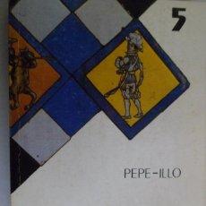 Livres d'occasion: BIBLIOTECA DE LA CULTURA ANDALUZA. LA TAUROMAQUIA. PEPE-ILLO. FOLCLORE. Lote 186010048