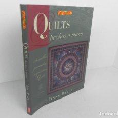 Livros em segunda mão: EL LIBRO DE QUILTS HECHOS A MANO (JINNY BEYER) DRAC-2005. Lote 186130636