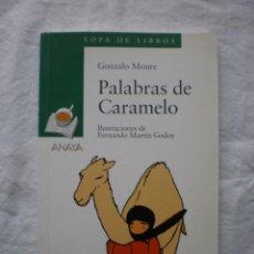 Libros de segunda mano: PALABRAS DE CARAMELO. Lote 186145818